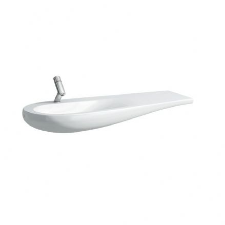 814973 - Laufen Alessi One 1200mm x 500mm Washbasin (Right Shelf) - 8.1497.3